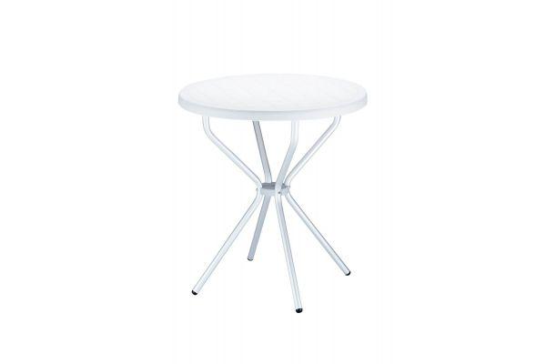 Tisch Elfo 70 cm weiß