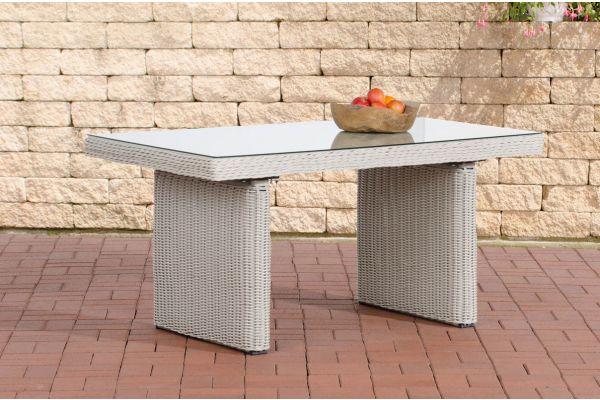 Tisch Fisolo/Minari/Bermeo 5mm perlweiß