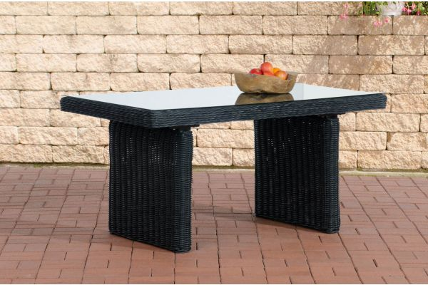 Tisch Fisolo/Minari/Bermeo 5mm schwarz