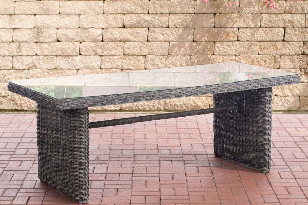 Tisch Fontana XL grau-meliert