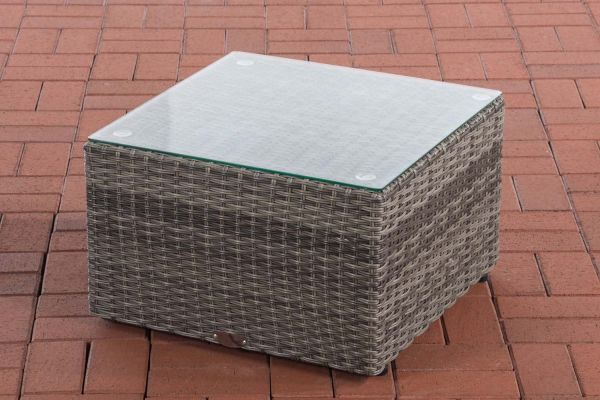 Tisch Genero / Liberi 5mm grau-meliert