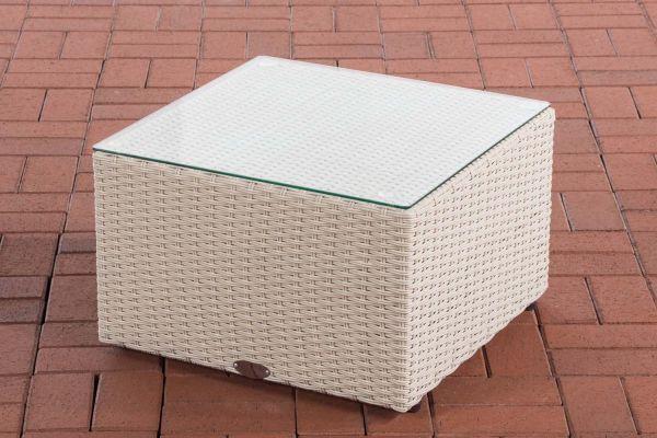 Tisch Genero / Liberi 5mm perlweiß