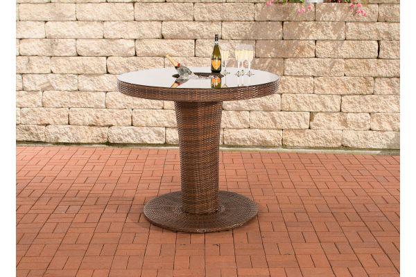Tisch Mari XL braun-meliert