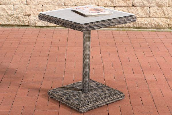 Tisch Palermo 5mm grau-meliert