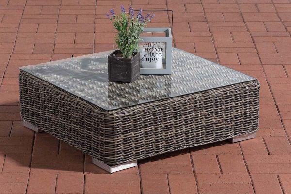 Tisch Pamplona grau-meliert