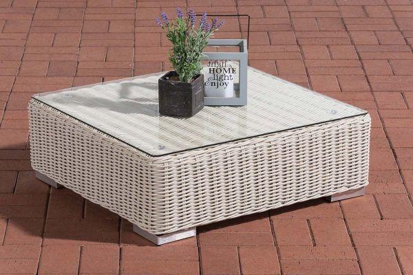 Tisch Pamplona perlweiß