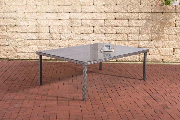 Tisch Pizzo/Tropea 210x150 cm grau