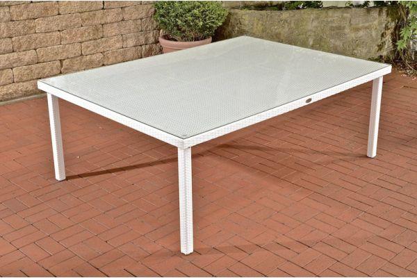 Tisch Pizzo/Tropea 210x150 cm weiß