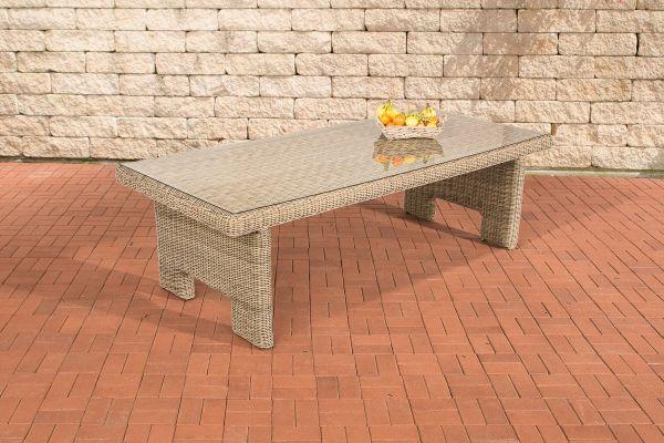Tisch Sandnes 220 cm 5mm natura