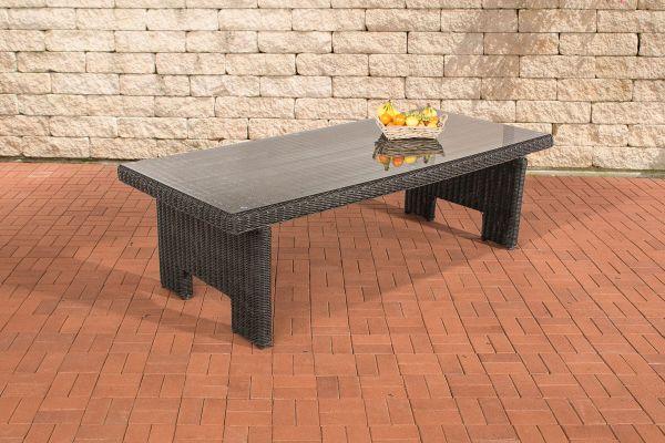 Tisch Sandnes 220 cm 5mm schwarz