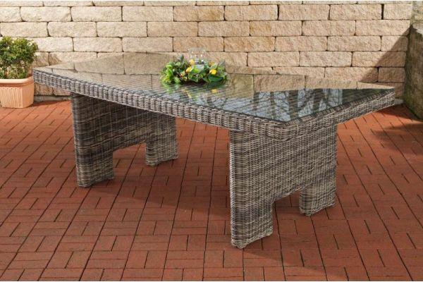 Tisch Sandnes 220 cm grau-meliert