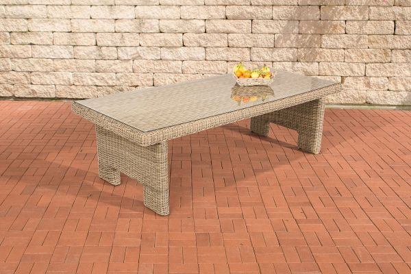 Tisch Sandnes XL 260 cm 5mm natura