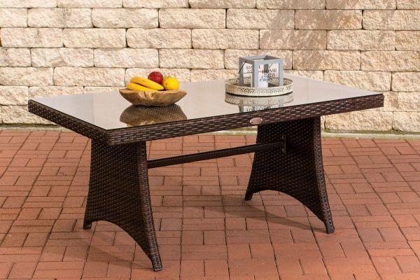 Tisch Siena / Sorano braun-meliert
