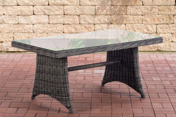 Tisch Sorano / Siena 5mm grau-meliert