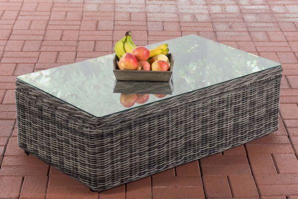 Tisch Tibera 5mm grau-meliert