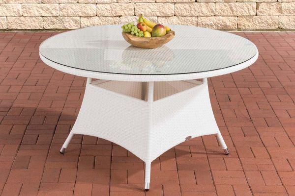 Tisch Venezuela 130 cm weiß