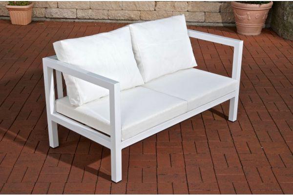 Vitus Living Sofa 2-Sitzer weiß