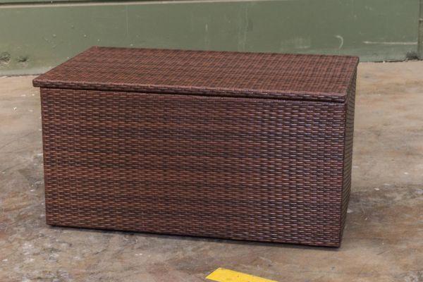 #G Garnitur 108: Auflagenbox L-braun-meliert