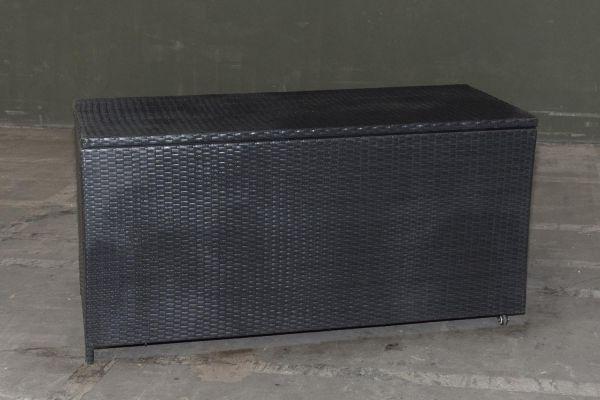 #G Garnitur 35: Auflagenbox Safe-schwarz