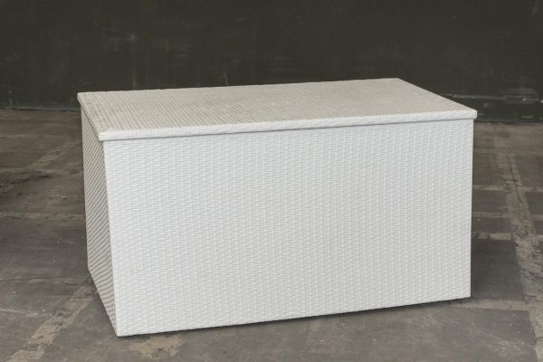 #G Garnitur 36: Auflagenbox XL weiß-weiß