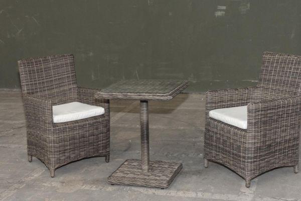 #G Garnitur 37: 2er Set Stuhl Fontana mit Tisch Palermo