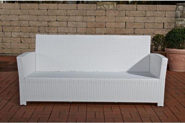 PT# 3er Sofa Fisolo weiß