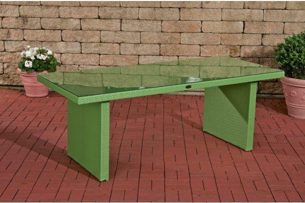 #G Tisch Avignon 180x90 cm grün-grün