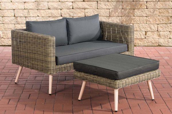 HBM# Molde Sofa mit Fußhocker 5mm natura
