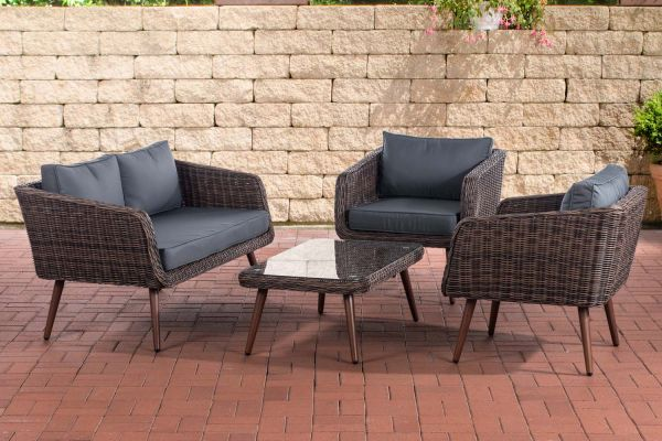 HBM# Lounge-Set Trosa 5mm braun-meliert