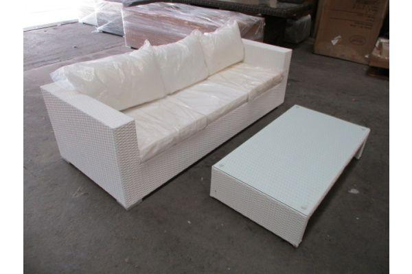 #HBM 1733: 3er Sofa + Tisch Casablanca