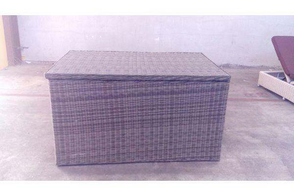 #G Luxus Auflagenbox 5mm-grau-meliert