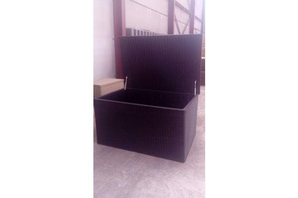 #G Luxus Auflagenbox 5mm Größe XXL-schwarz