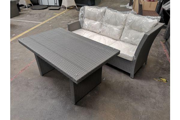 #G 607 2er Sofa mit Tisch Bermeo