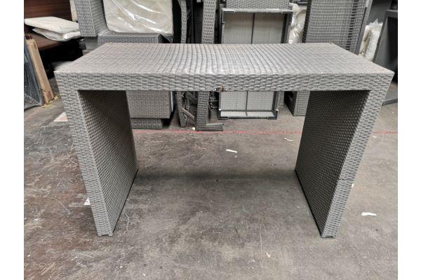 #G 622: Gartenbar Tisch Lenox-grau
