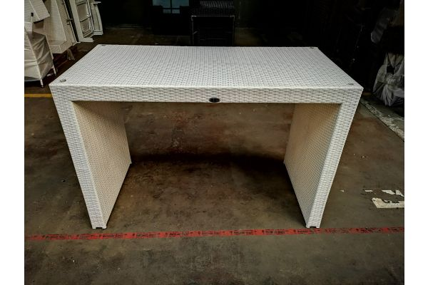 #G 1085: Bartisch Lenox weiß-weiß