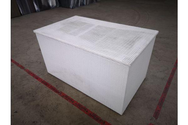 #G 1391: L Auflagenbox weiß-weiß