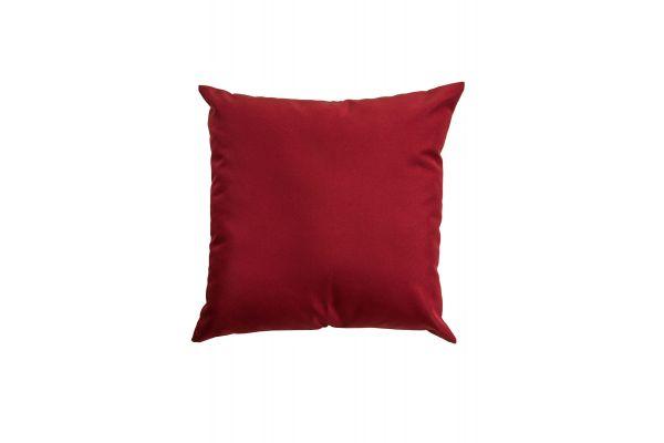 Deko-Kissen 45 x 45 cm B-Ware-rubinrot
