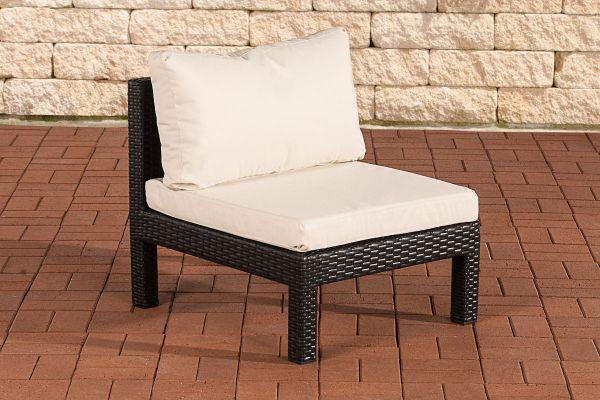 Sofa-Element Fiji -schwarz-cremeweiß