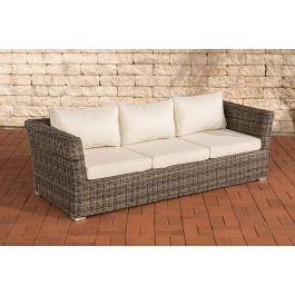 3er sofa mandal 5mm polyrattan set clp. Black Bedroom Furniture Sets. Home Design Ideas