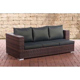 3er sofa provence gartensofas polyrattan set clp. Black Bedroom Furniture Sets. Home Design Ideas