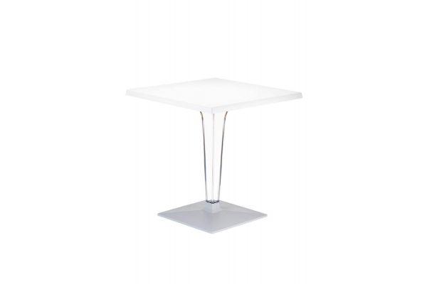Kunststoff Gartentisch ICE, 60x60 cm