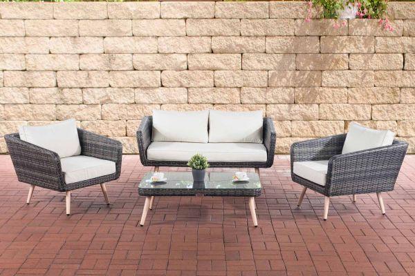 Lounge-Set Trosa Flachrattan