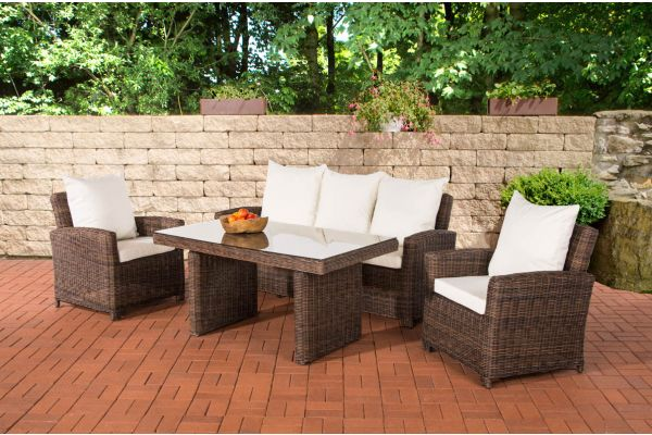 Loungemöbel günstig kaufen - Rattan Lounge Gartenmöbel