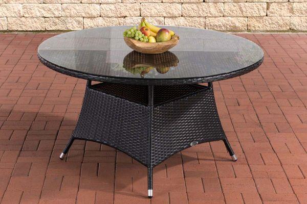 Tisch Venezuela 130 cm schwarz