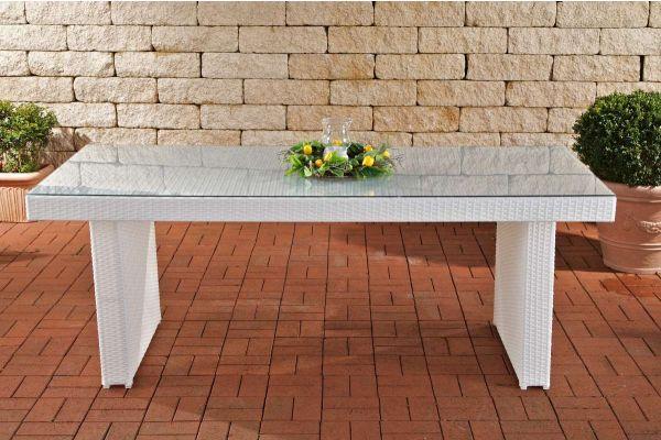 Polyrattan Tisch Avignon BIG, Größe 200 x 90 cm, 8 Personen